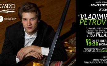 Concierto de piano de Vladimir Petrov