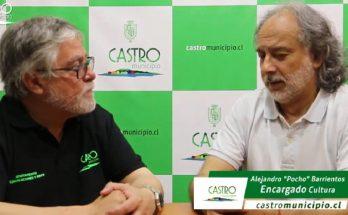 """Entrevista a Alejandro """"Pocho"""" Barrientos Encargado Departamento Cultura"""