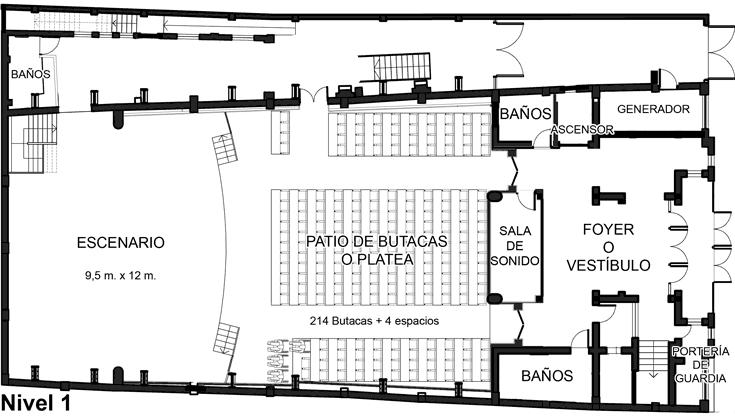 Nivel 1 - Centro Cultural de Castro