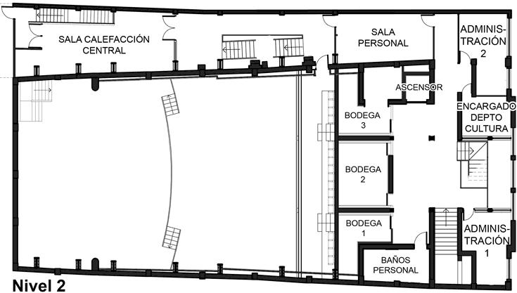 Nivel 2 - Centro Cultural de Castro