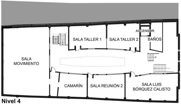 Nivel 4 - Centro Cultural de Castro