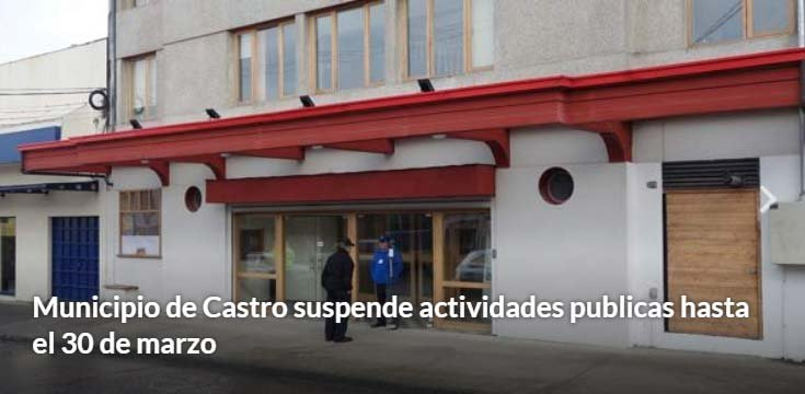 suspension actividades