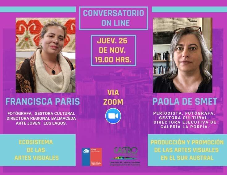 conversatorio online encuentro artistas