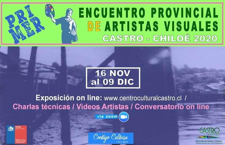 primer encuentro provincial artistas visuales