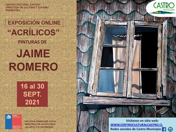 exposicion jaime romero afiche