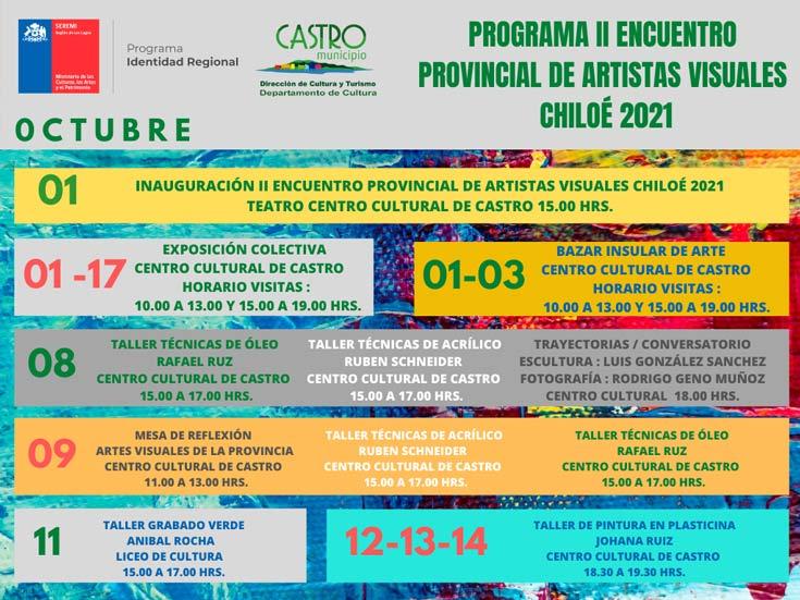 segundo encuentro provincial programa